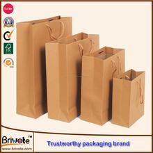 2015 Bolsa de papel de ropa bolsa de papel de impresión