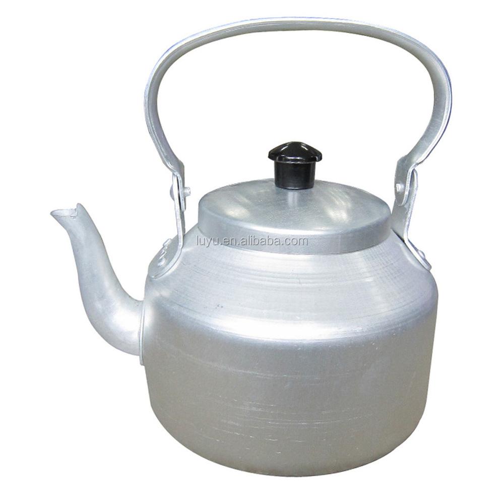 Yellow Kitchen Equipment: 0.75l-15l Cheaper Welded Spout Tea Pot Golden Yellow