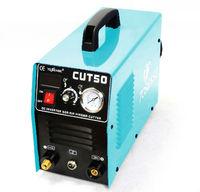 inverter dc digital air plasma cutter CUT50 brand new welding plasma manufacture sky blue color