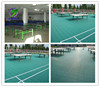Outdoor Modular Sport Tabld Tennis Court Floor Tile