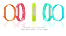Waterproof Bluetooth V4.0 Smart Wristband with Calorie & Sports & Sleep Tracking, Waterproof Grade: IP-X7(Blue)