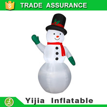 promotional 6' customize home decor AirBlown Christmas Inflatable lighting plastic snowman