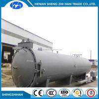Diameter 1200x4000 Vacuum heat pressure wood treatment equipment