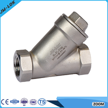 Brass angle valve with filter manufacturer in China