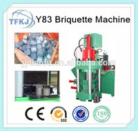 Y83-6300 briquetting press machine copper block making machine