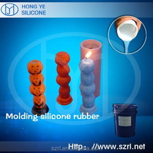 How do making silicone mould for candle ?
