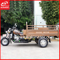 Guangzhou factory supply popular engine petrol & electric start 175cc motor tricycle