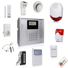 New 2015 433/ 868MHz Intelligent GSM Alarm System ,Smart GSM Alarm System, CP-21A Sample kit for dealers and users