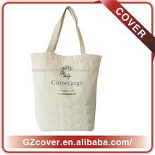 bolsa de algodón ecológico personalizado de alta calidad para las niñas