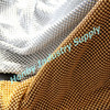 Silver, Gold Color Round Sequin Metal Mesh Curtain Partition