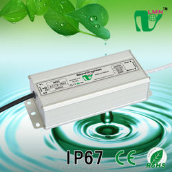 81W waterproof constant voltage led driver IP67