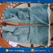 DANFENG DHWZ002 Wholesale Long Welding Gloves Waterproof Heat Resistant Gloves
