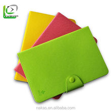 High quality factory price leather case for ipad mini candy colors covers