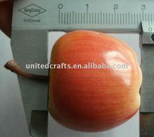 Artifical Weighted foam apple D32mmH29 artificial fruits