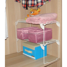 coated wire closet storage organizer