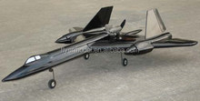 RC Model airplane SR-71 Blackbird