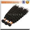 2015 Factory Wholesale Price deep wave asian hair Unprocessed 100% virgin Asian Hair