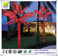 best selling led tree light products artificial coconut palm tree out door lighted palm tree