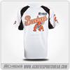Popular customized sublimation new design gym t shirt