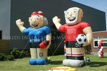 Hacer deporte caricaturas holanda, globo inflable, globos para publicidad k9019