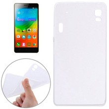 Dropshipping White Soft Transparent TPU Protective Case Cover for Lenovo K3 Note