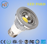Hot type CE ROHS made in china 6w e27 b22 led spot light par20