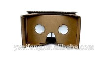 Virtual 3D glasses paper models;Suitable for promotional gifts;VR 3D video glasses