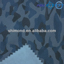 New Embossed Printed Abstract Pattern 100% PVC Leather For Automotive Interior