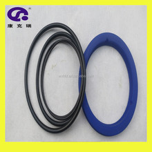Rubber seal o ring in different sizes and shapes