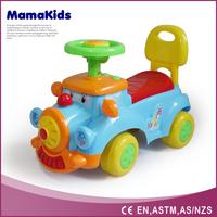 2015 newest plastic baby push toy car cartoon baby ride on car