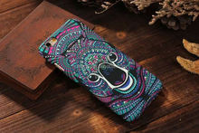 Mobile accessories Animal Luminous Glow In The Dark Hard Back Cover Casee hard cover case for iphone 5 5s made in china