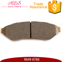 Auto spare part manufacturer disc brake pad car for car Chevrolet Epica 9649 6766