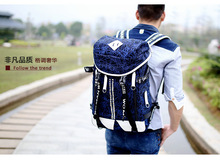 new student bag canvas backpack large capacity double cute bags