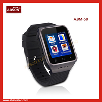 Android dual sim coscod smart watch/2015 smart mobile phone watch