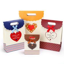 Free samples advertising gift paper bag candy paper bag