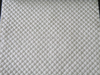 PU leather embroidery fabric for sofa and bags