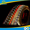 indoor decorative waterfall with led brake light strips