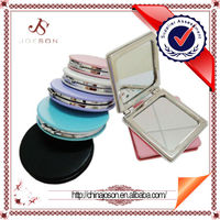 Make up & Mini pocket of show girl & ladies lovely compact leather mirror