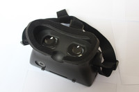 Head Mounted google cardboard 3D Glasses for virtual reality VR 3D Games and 3D Movies Plastic Google Cardboard 3D Glasses