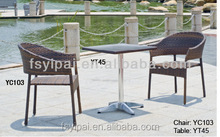 used cafe table chair set garden treasures cafe furniture YC103 YT45