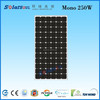 250W MONO new china high quality products for home solar panel with lowest price