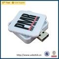 nuevo producto de plástico blanco de regalo vatop gadget 8gb 16gb 32gb usb flash drive con precio de fábrica