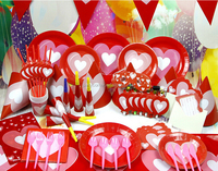 Cheap Valentine's Party Decoration For Lovers With Heart Theme