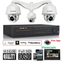 LS VISION 180M Infrared Auto Tracking hd sdi PTZ security camera system