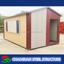 Cheap but luxury storage prefab house / comfortable and good quality house container