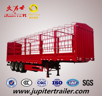 ISO CCC Approved 3 Axle Stake Truck Semi Trailer