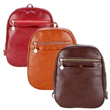 Stylish Women Fashion Practical Retro Casual Faux Leather Backpack SV018016