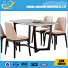 Wholesale Name Brand Designs Wooden Morden Dining Table and Chair