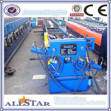 Square downspout roll forming machine/ cold rolling tube machine