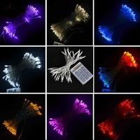 5 meters 50 leds battery LED twinkle light - blue